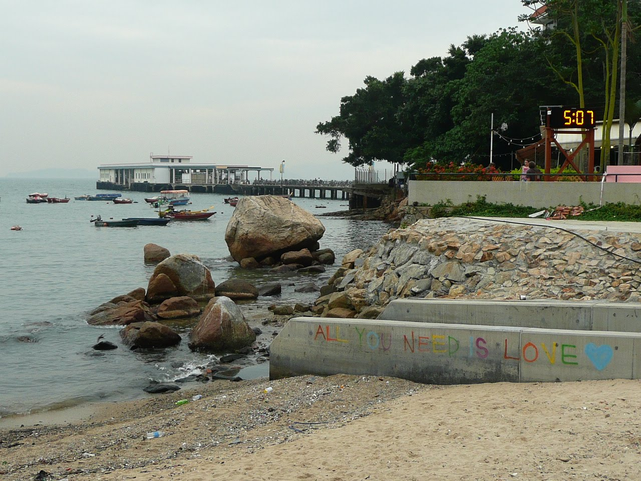 how to get to lamma island from central