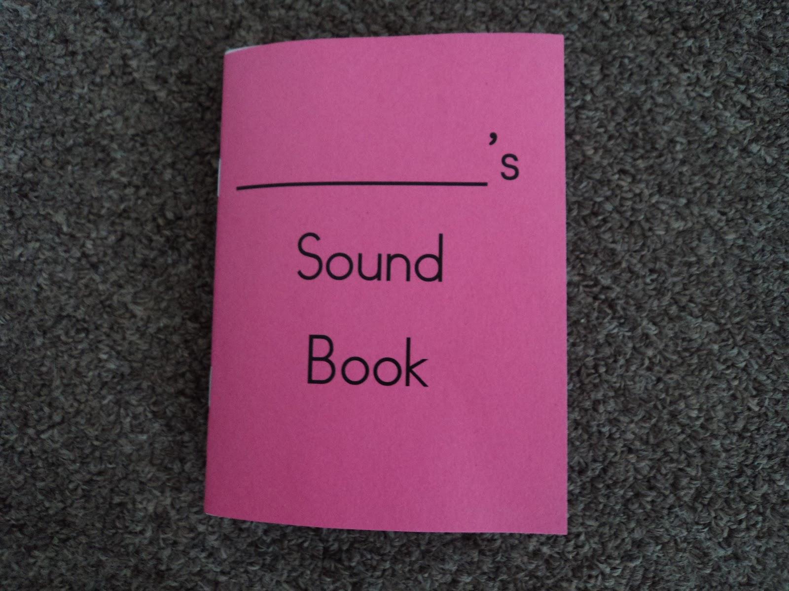 Crazy About Montessori: Sound Books