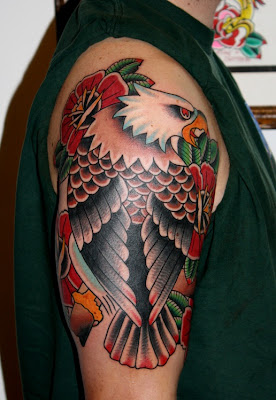 Eagle - Tattoo in Japanese Style