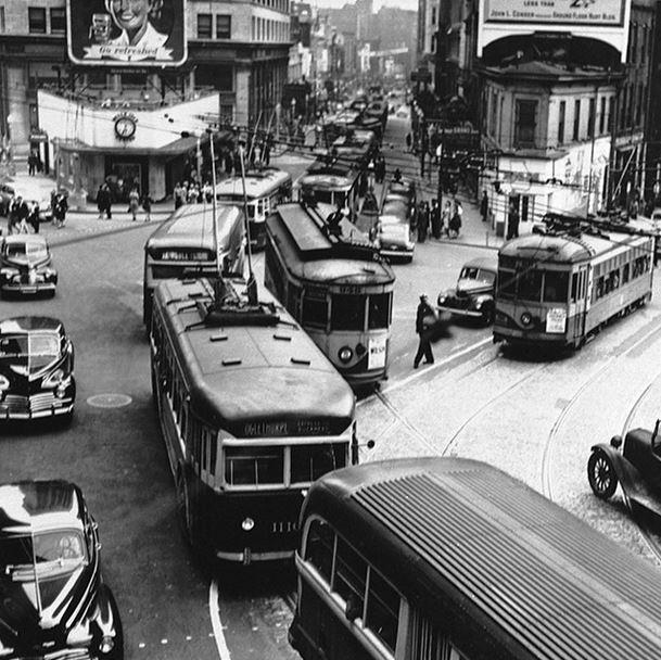 Atlanta streetcar 1946