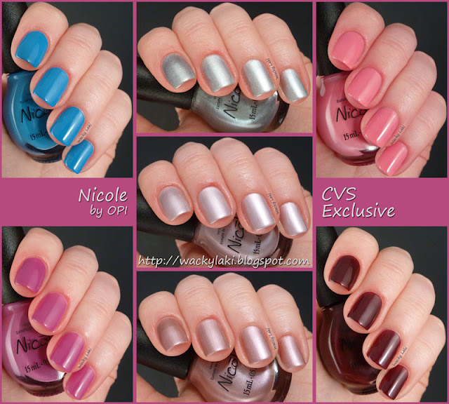 wacky laki  nicole by opi cvs exclusive
