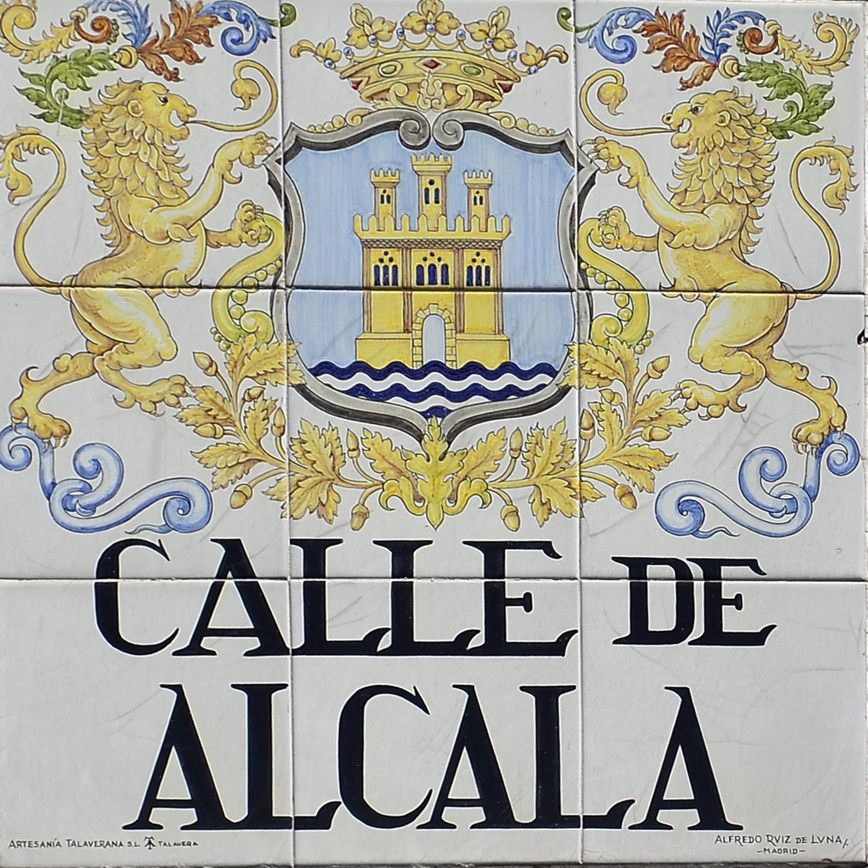 Placas E Historia De Las Calles De Madrid Azulejos De