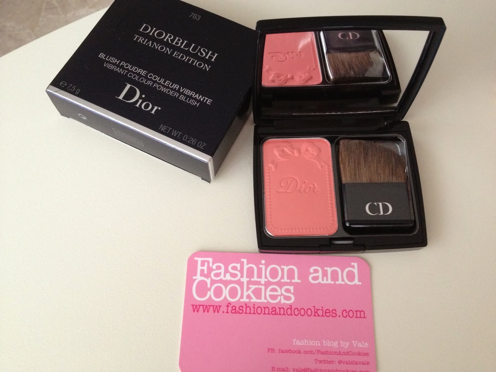 Dior Trianon Collection Spring 2014, Diorblush 763 corail bagatelle, Fashion and Cookies