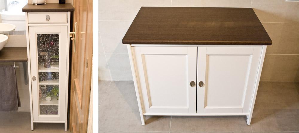Ikea hack los armarios flaren del ba o de evilsabeth a - Mueble rustico ikea ...