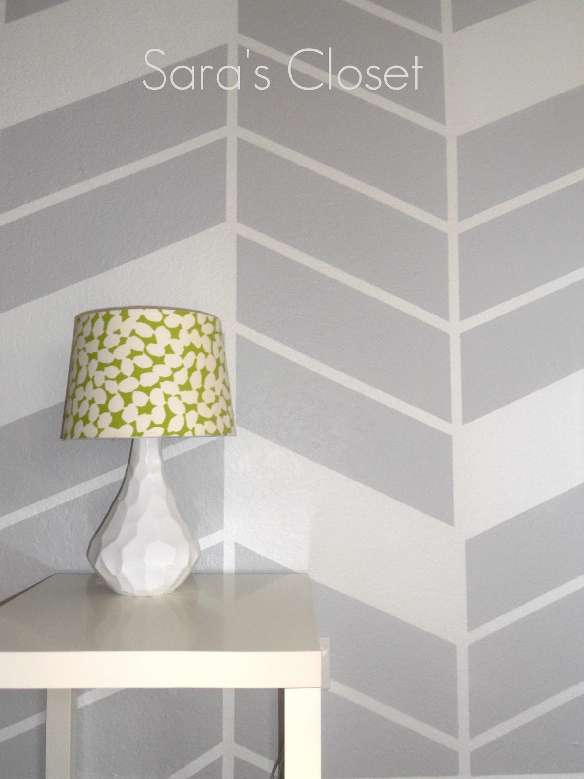 Sl Designs Herringbone Wall Diy