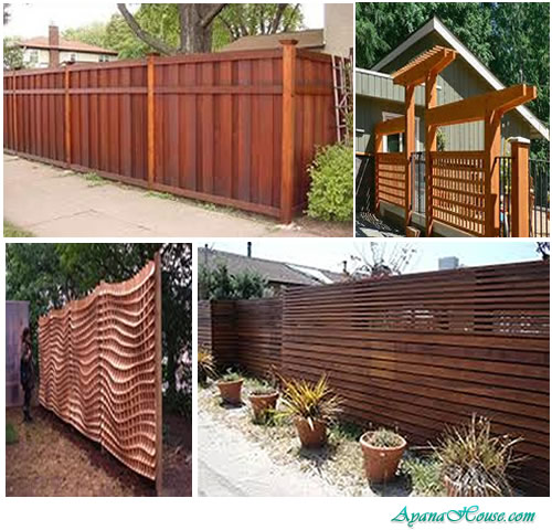 House Fence Design AyanaHouse