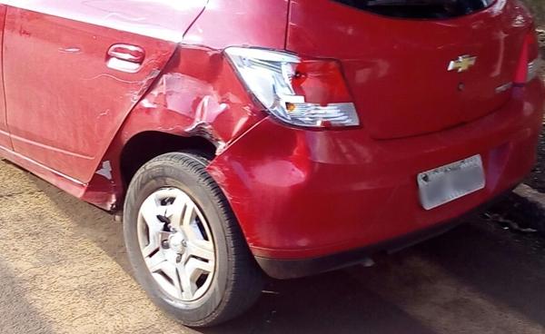 Manoel Ribas: Motociclista fica ferido em acidente na Avenida Brasil