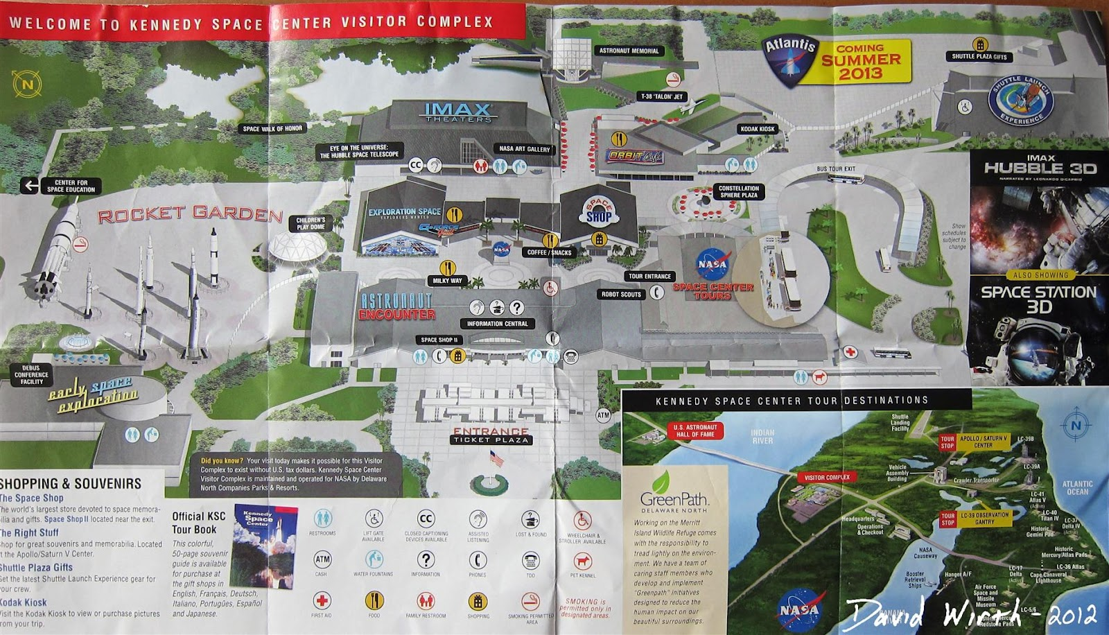 kennedy space center map nasa florida cape canaveral rockets apollo