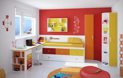 Kids bedroom furniture for making happy