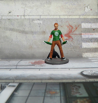 Zombicide Suvivor Dave Geek Painted