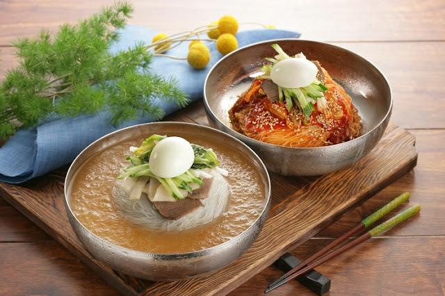gia ve may bay di seoul - Món Naengmyeon tại Seoul