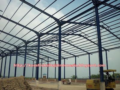 konstruksi baja | membangun gudang