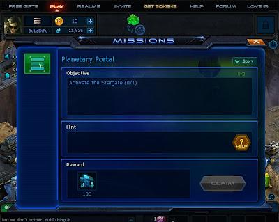 Infinite Realms - Activate Stargate