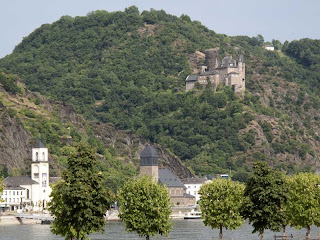 Katz Castle St. Goar Germany