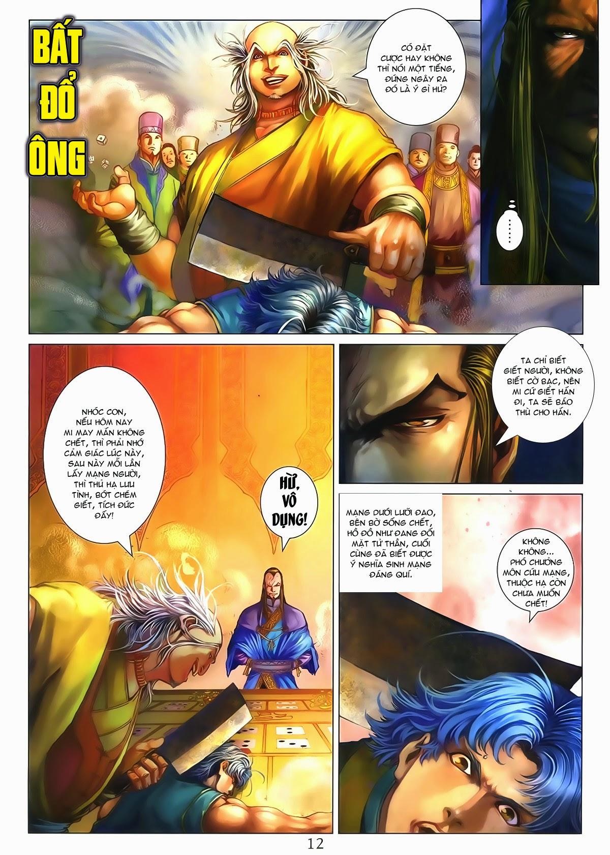 Tứ Đại Danh Bổ Chap 286 - Trang 12