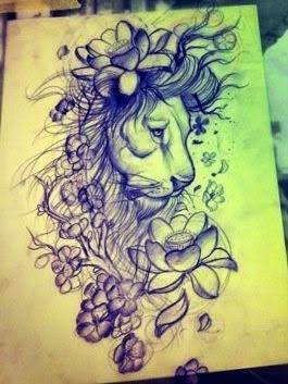 awesome-lion-tattoo