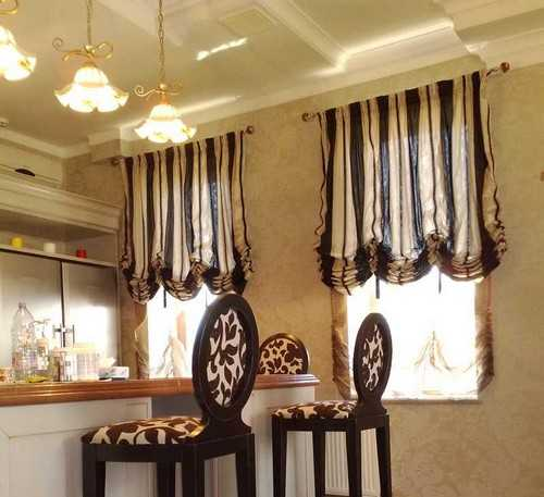 Balloon Curtains For Kitchen3