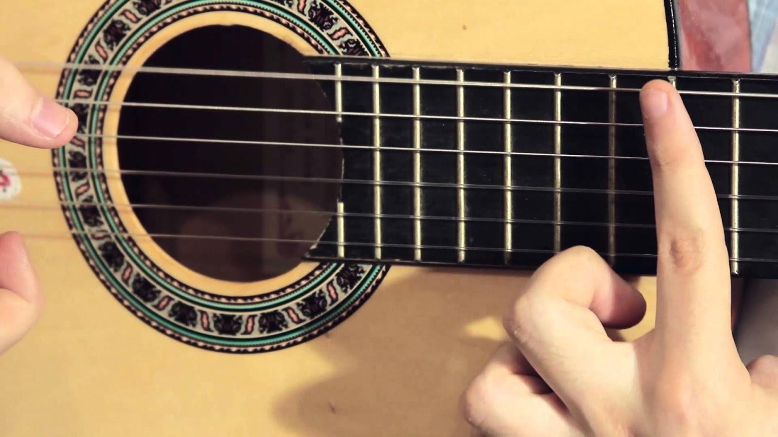 armonicos en guitarra