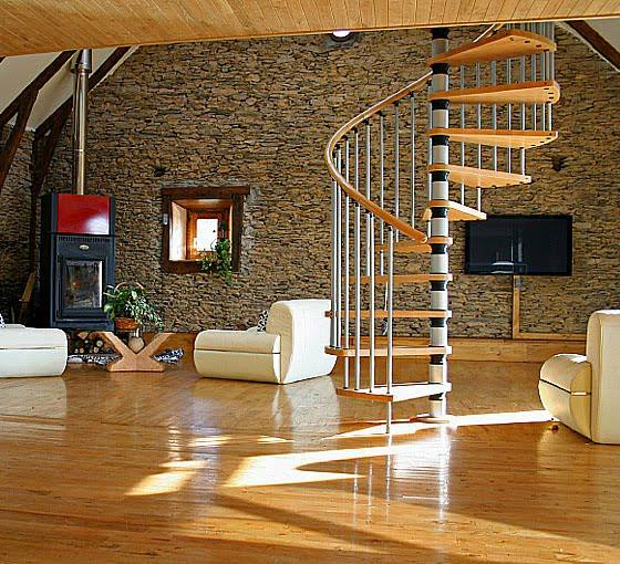 Construindo Minha Casa Clean Tipos De Escadas Decoradas