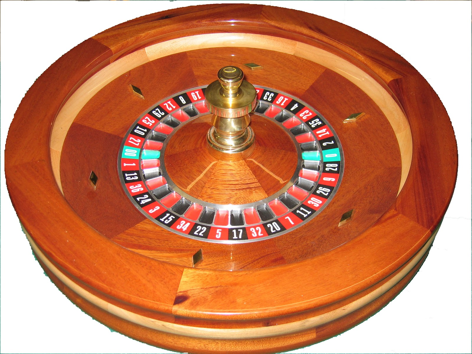 Roulette Wheel Personalized Coasters