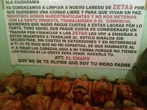 mensaje chapo guzman tamaulipas