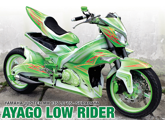 Yamaha Jupiter MX '05 :Ayago Low Rider