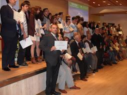 Alumnado y profesorado galardonado en Málaga Excelencia Educativa 6-5-2011