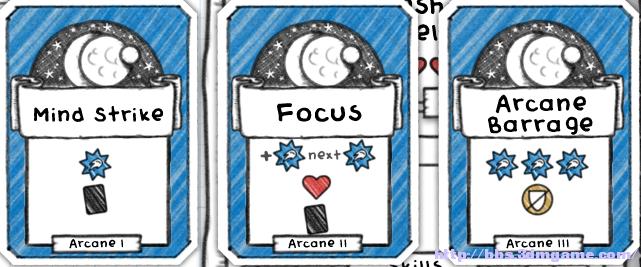 Guild of Dungeoneering 卡牌和裝備屬性與特技及技能全整理