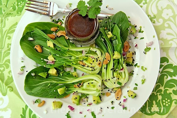 baby bok choy avocado salad with sweet soy glaze grilled bok choy ...