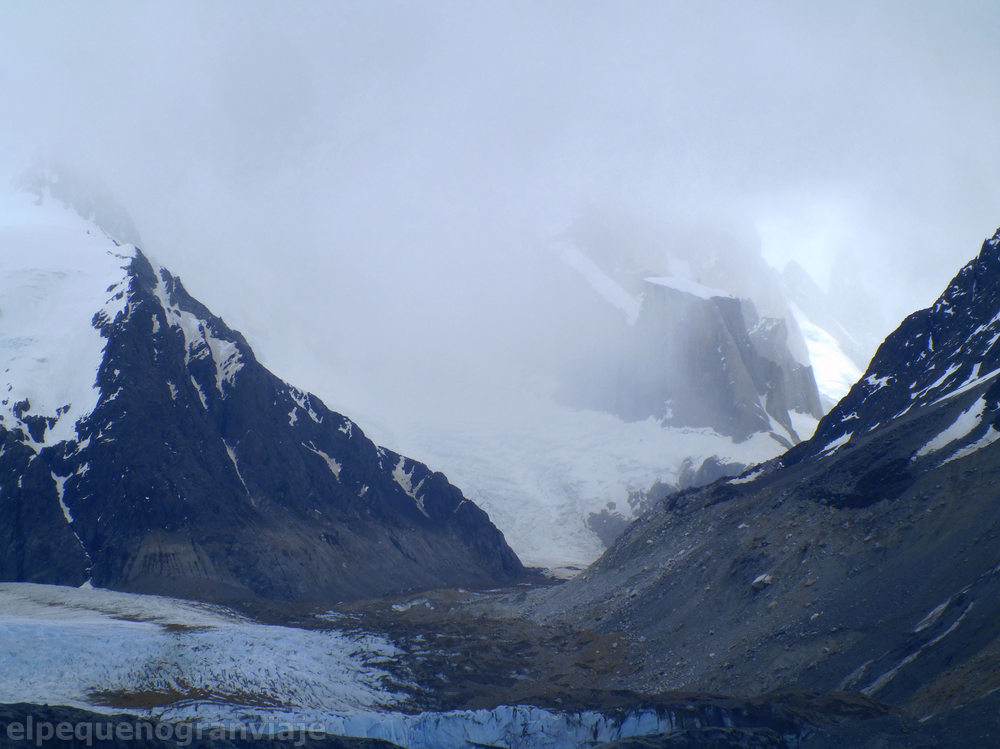 Trekking Laguna Torre, El Chaltén, glaciar