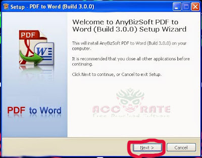 PDF To WORD Accurate