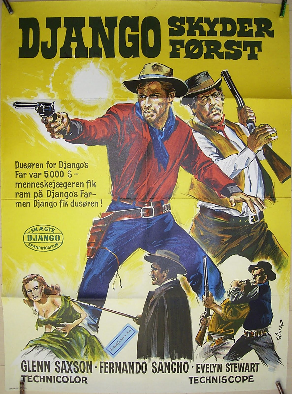 bloody pit of rod spaghetti western poster art
