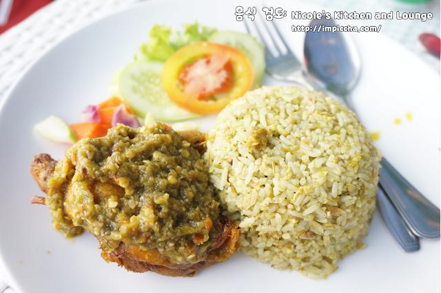 nasi goreng sambal ijo Nicole's Kitchen and Lounge