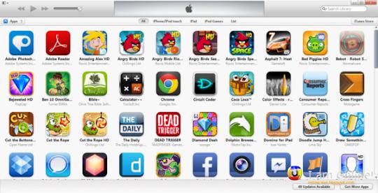 iTunes 11 Apps