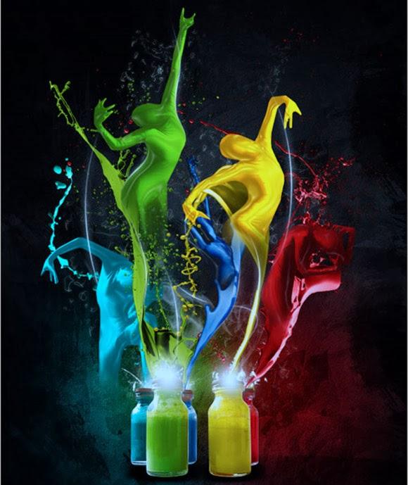 Imaginary Paint Dancers