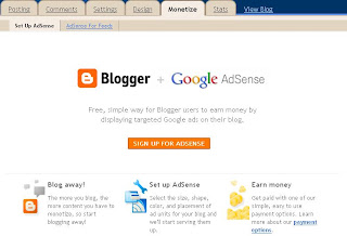 Blogger [OLD INTERFACE] -Monetize
