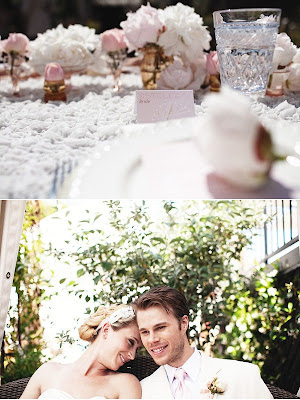 semplicemente perfetto rosa matrimonio filo uncinetto