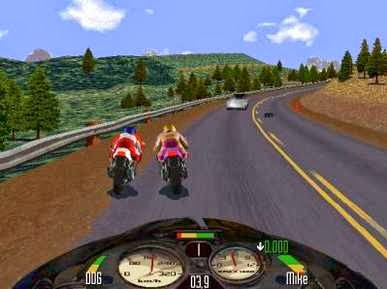 Gameplay Road Rash 2002