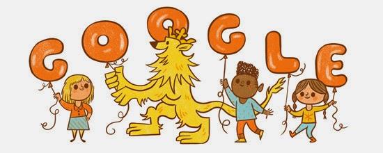 Google: Fijne Koningsdag ! (27 Apr 2015)