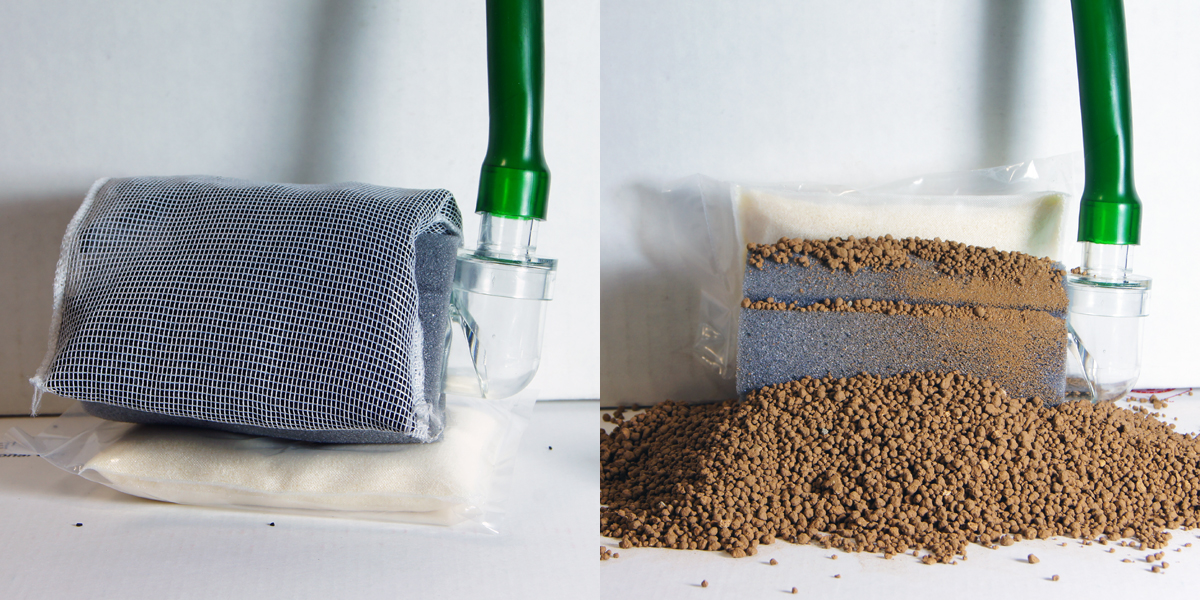 Studio kwaak mannen maken plannen het bio zand filter for Homemade bio filter media