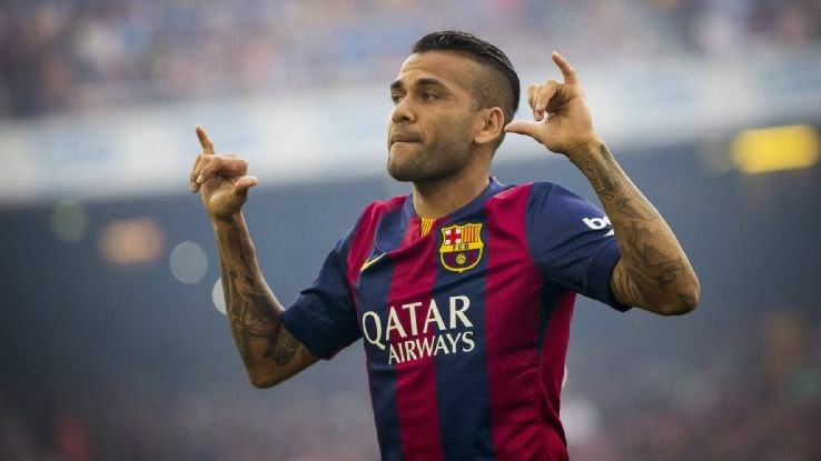 Dani Alves rejects fair offer to renew his Barcelona contract