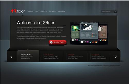 13floor wordpress theme elegent theme free download link for 13 floor theme