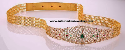 Diamond Waist Belt