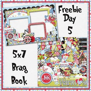 Warm Hearts 5x7 Brag Book Freebie Day 5