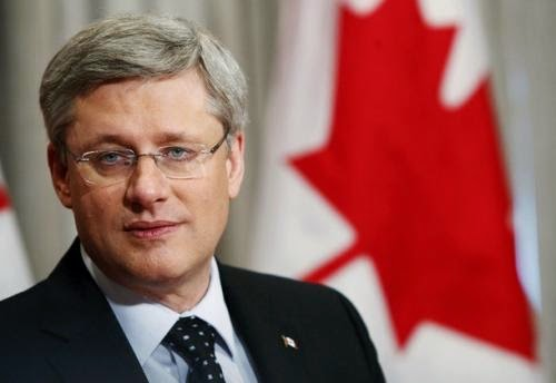 Stephen Harper, 6 ft 2