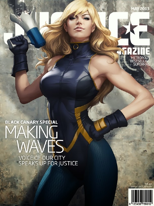 Black Canary Justice Magazine