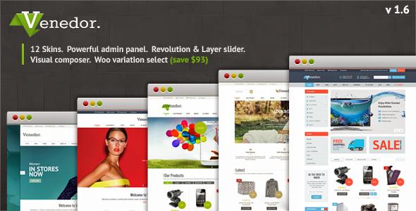 Venedor – Ultimate WordPress + WooCommerce Theme