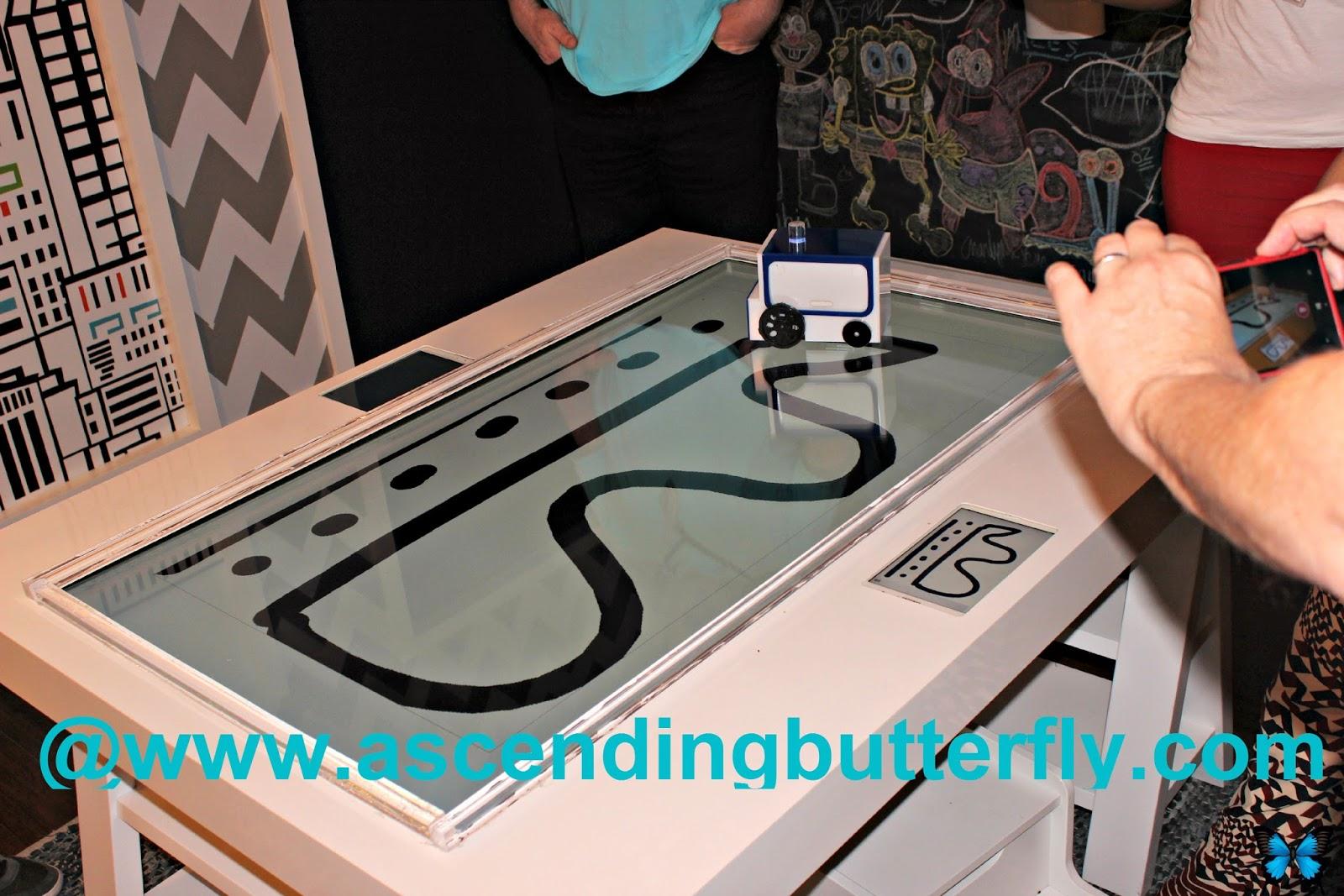 Play area at the SoHo Samsung Galaxy Studio