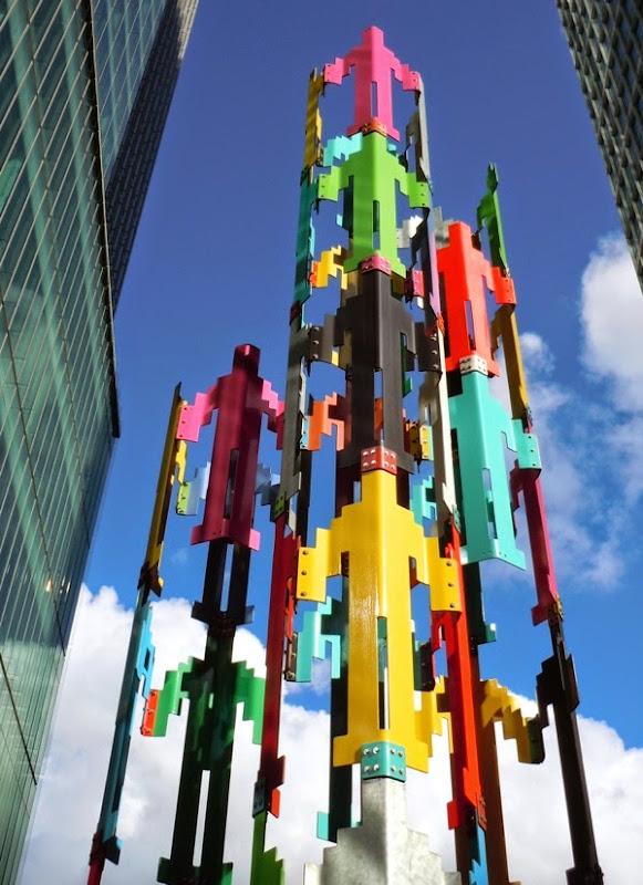 Human Structures sculpture Jonathan Borofsky San Francisco