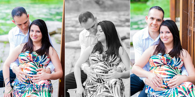 Lincoln Park Chicago Lily Pond Maternity Photo